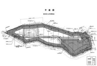 調整池設計図(例)